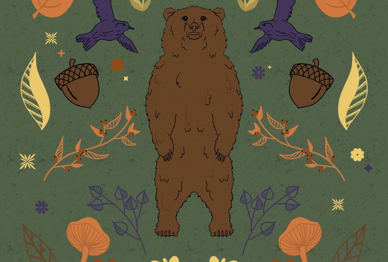 Woodsy Bear - student project