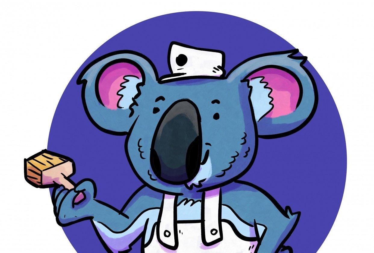 Koala Painting Express - student project