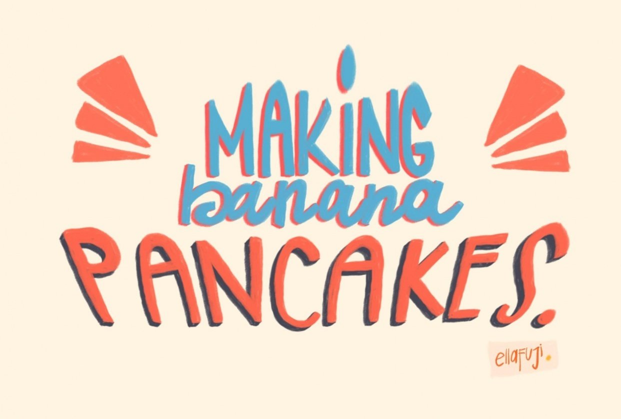 Banana pancakes? - student project