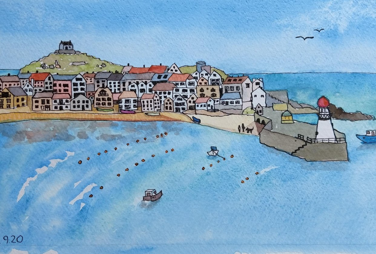 St. Ives Harbour - student project