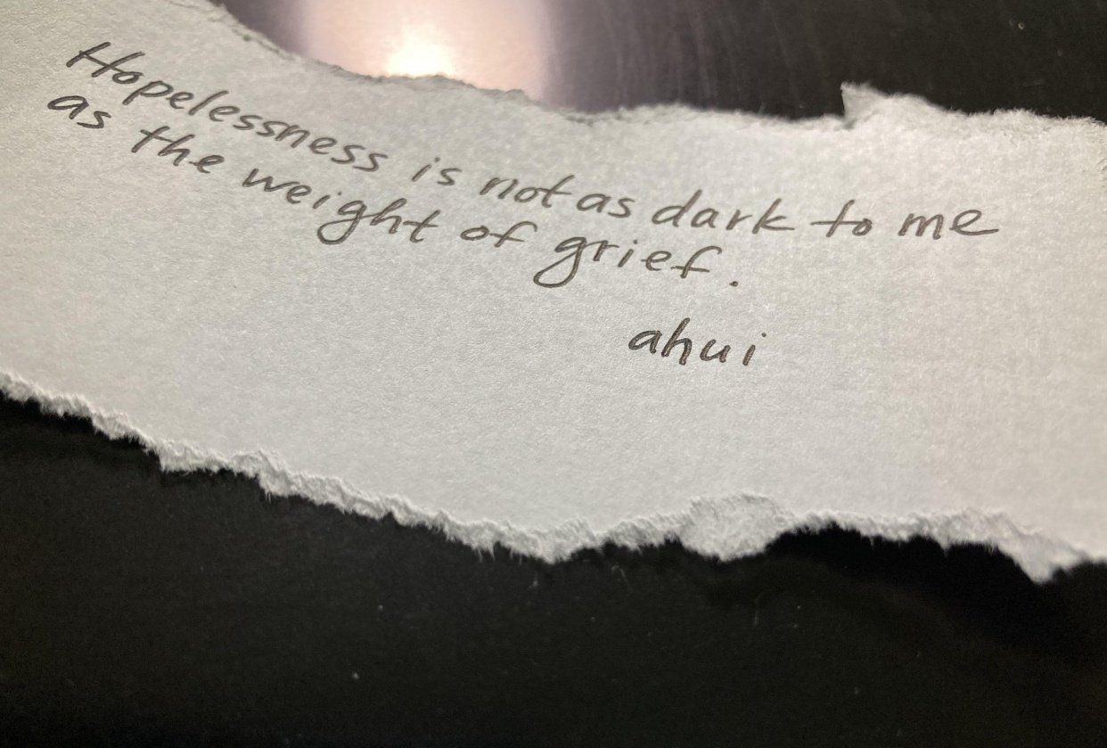 Grief - student project