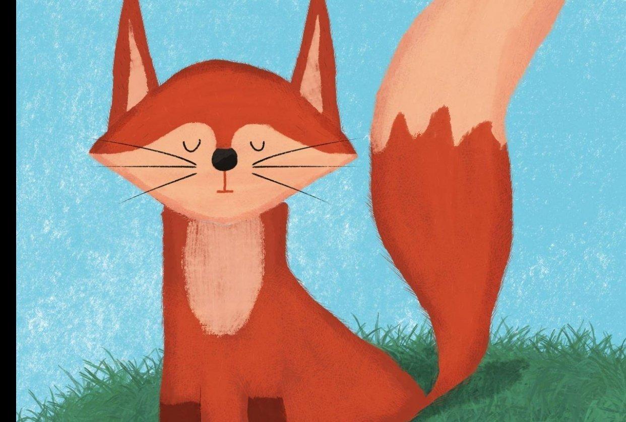 My little sleeping fox - student project