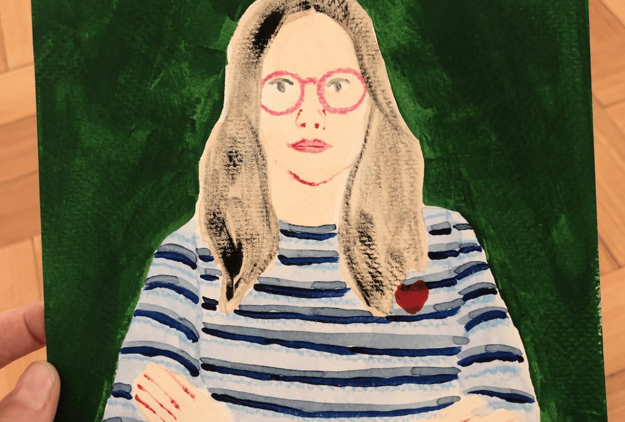 Self-Portrait - student project