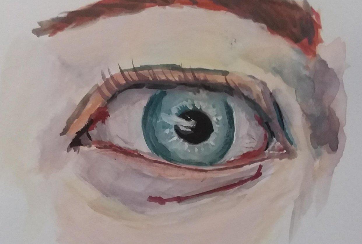 Gouache Eye... - student project