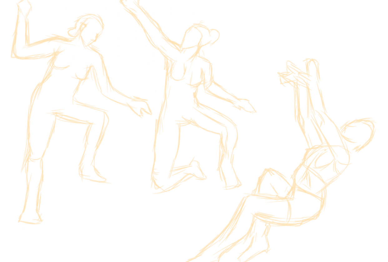 Figure Proportions and Balance - student project