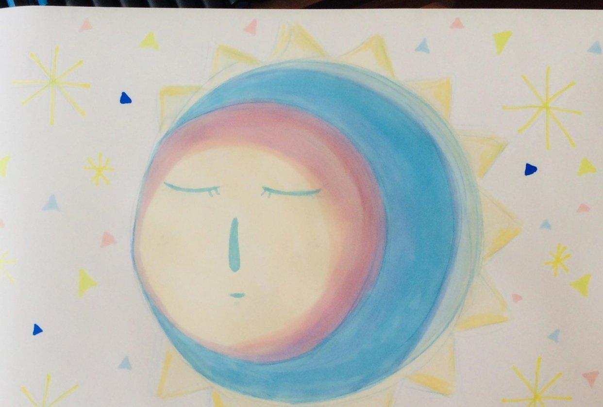 Sleepy Moon - student project