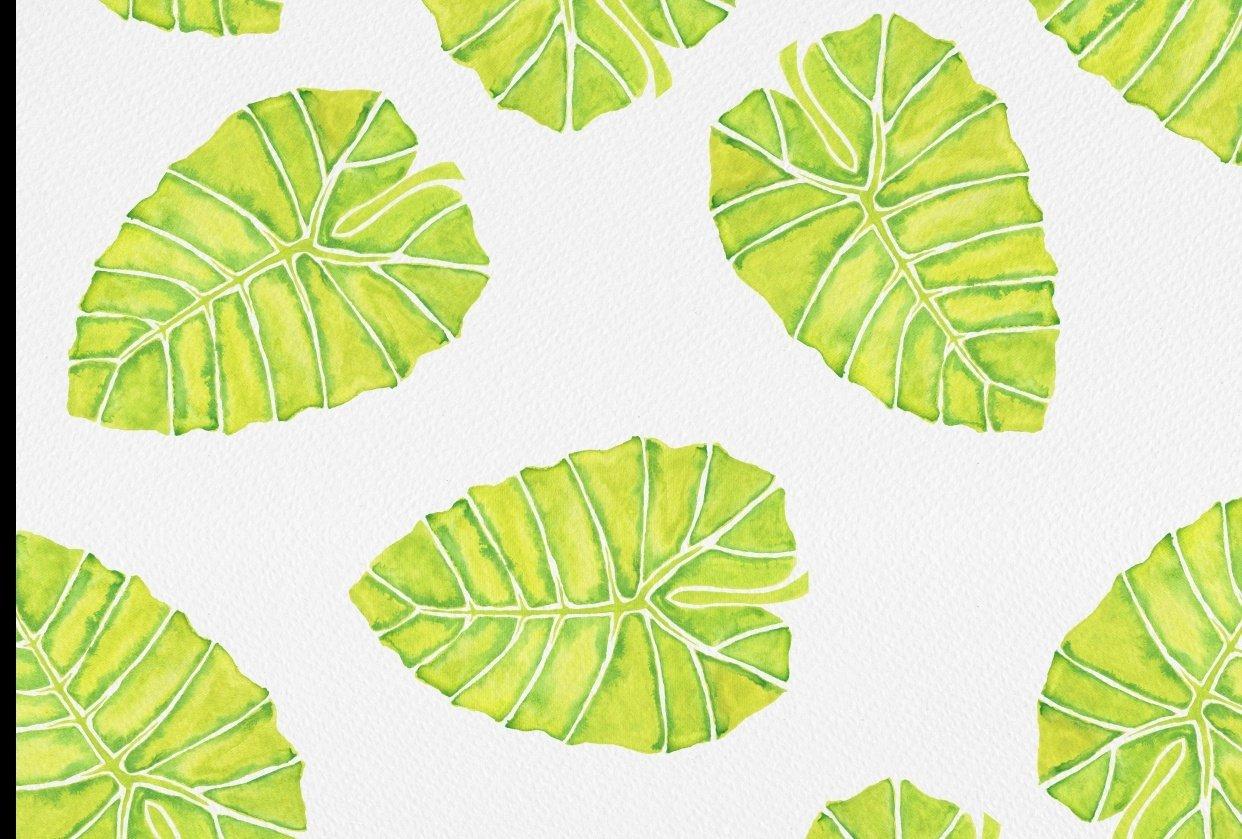Leaf Pattern - student project