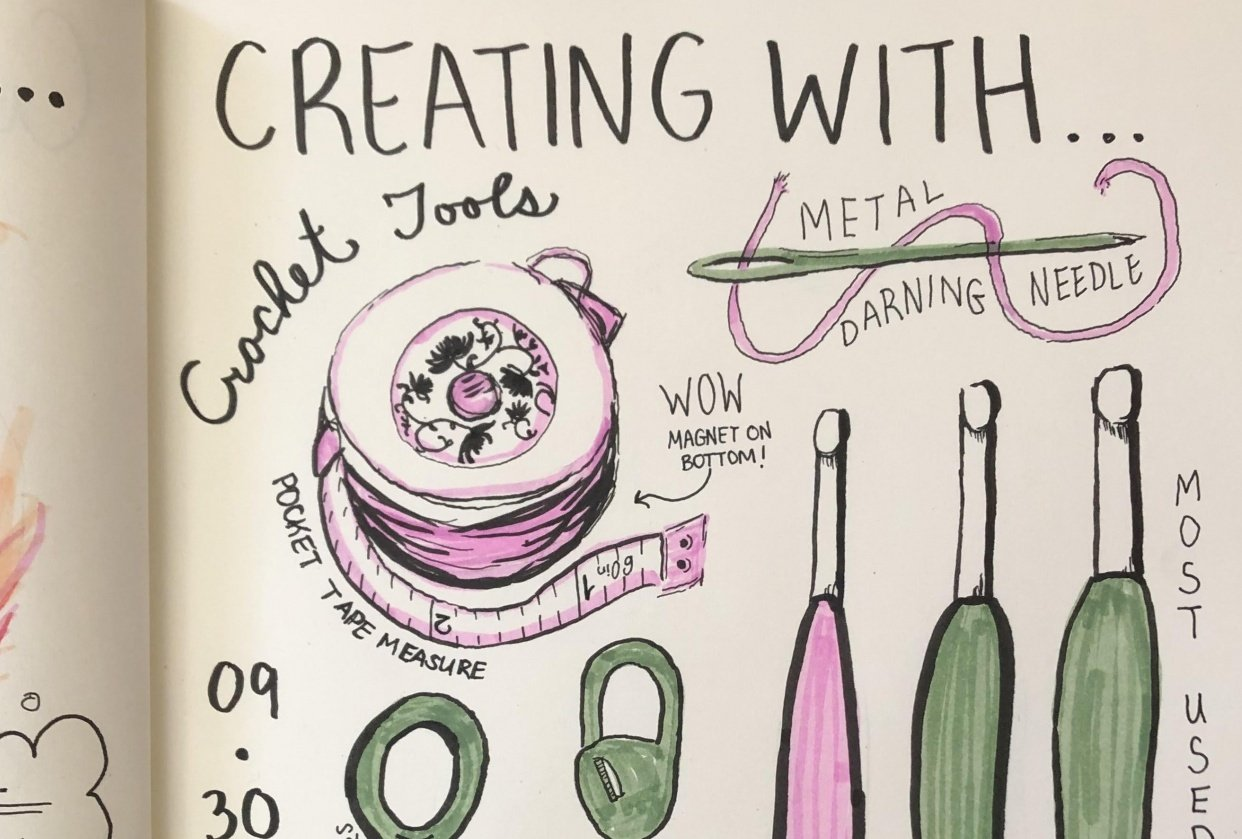 Isabel's Illustrated Journal - student project