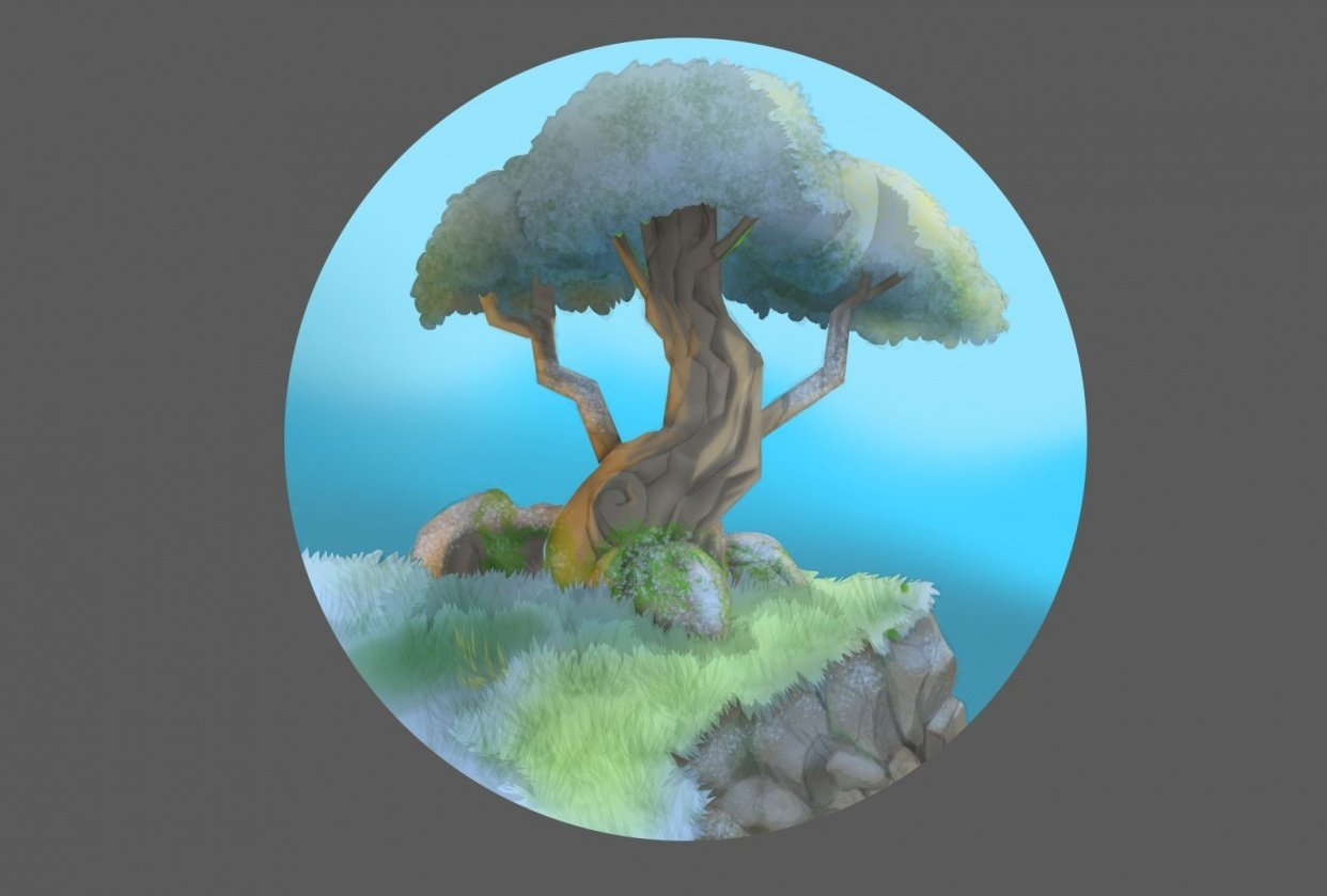 Tree and Skull - student project