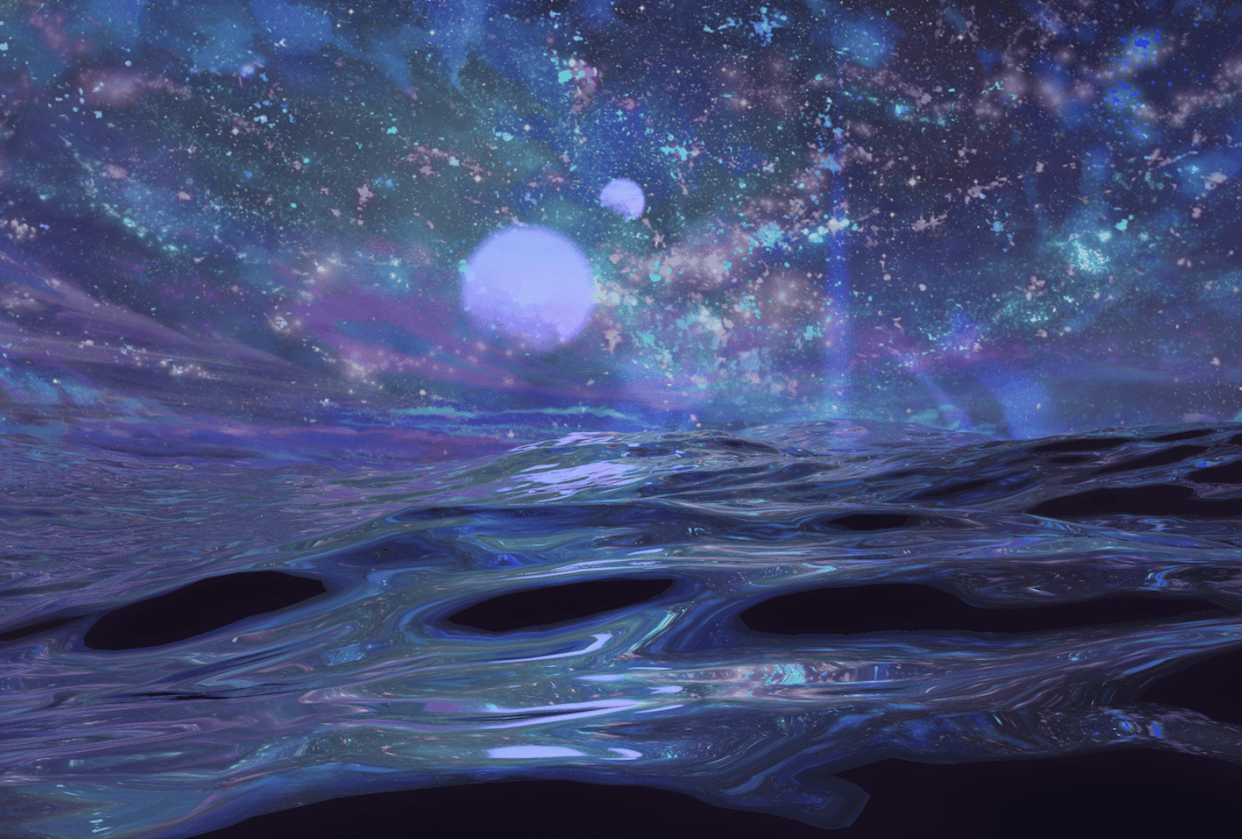 Space Waves - student project