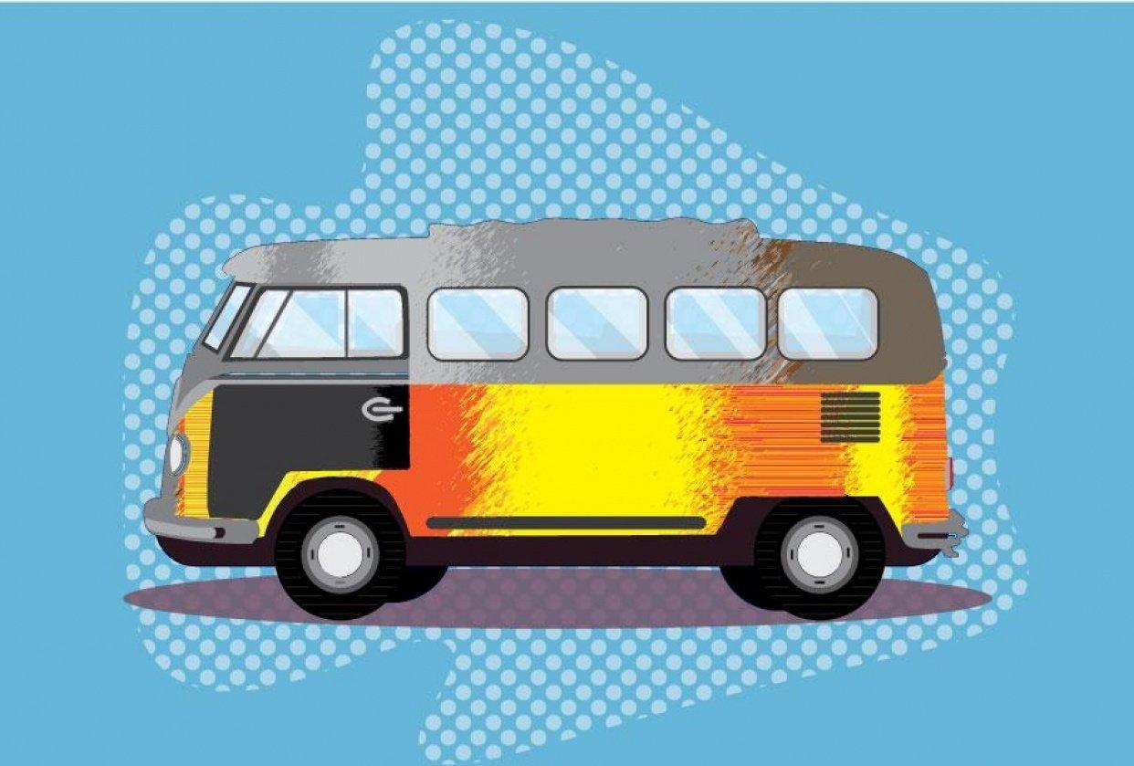 Ghetto Van - student project