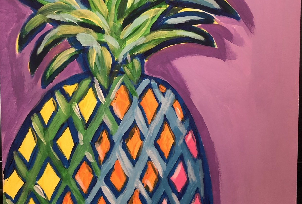 Pretty Pineapple - student project