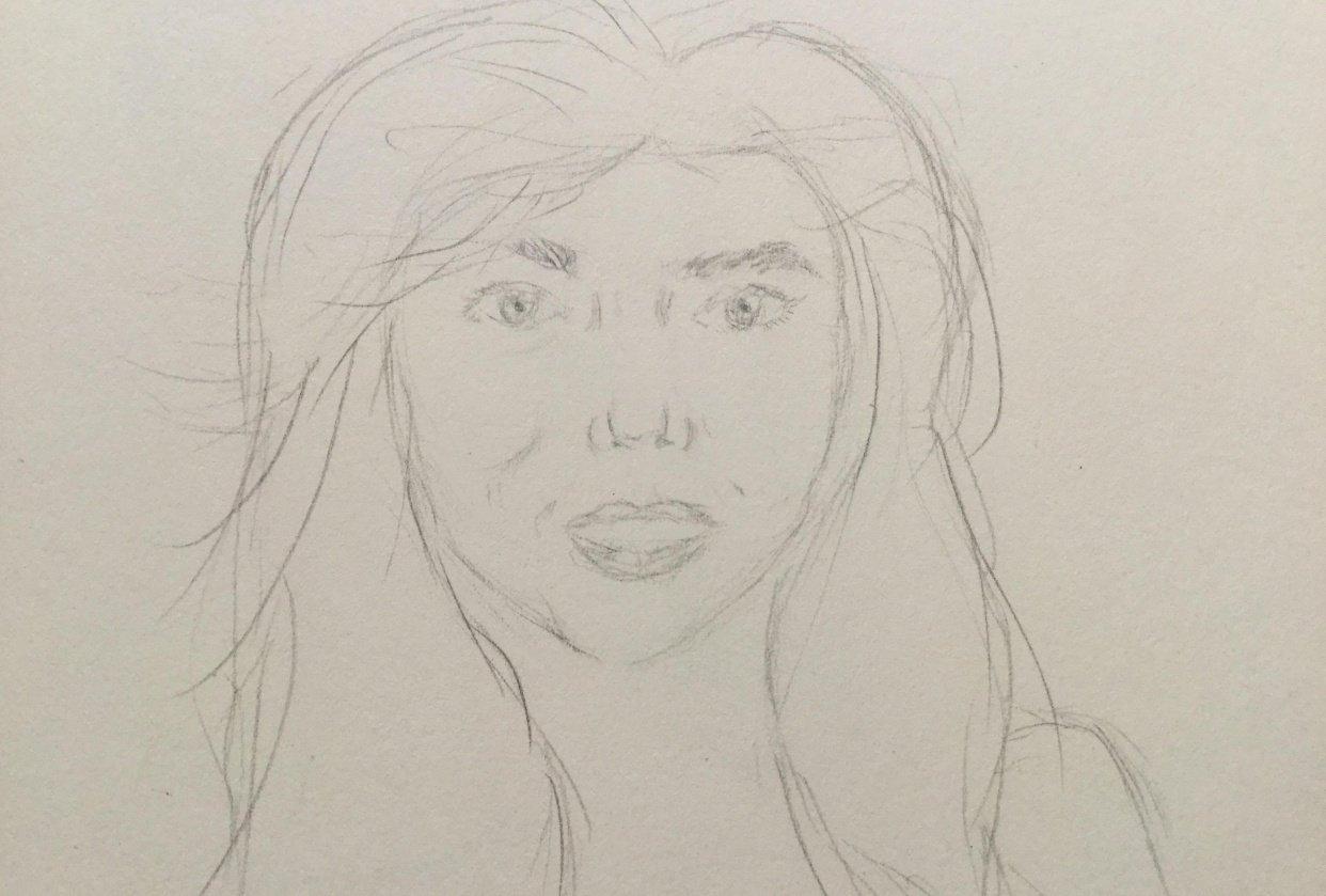 Simple portrait - student project