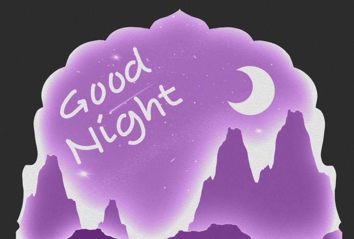 Good night - student project