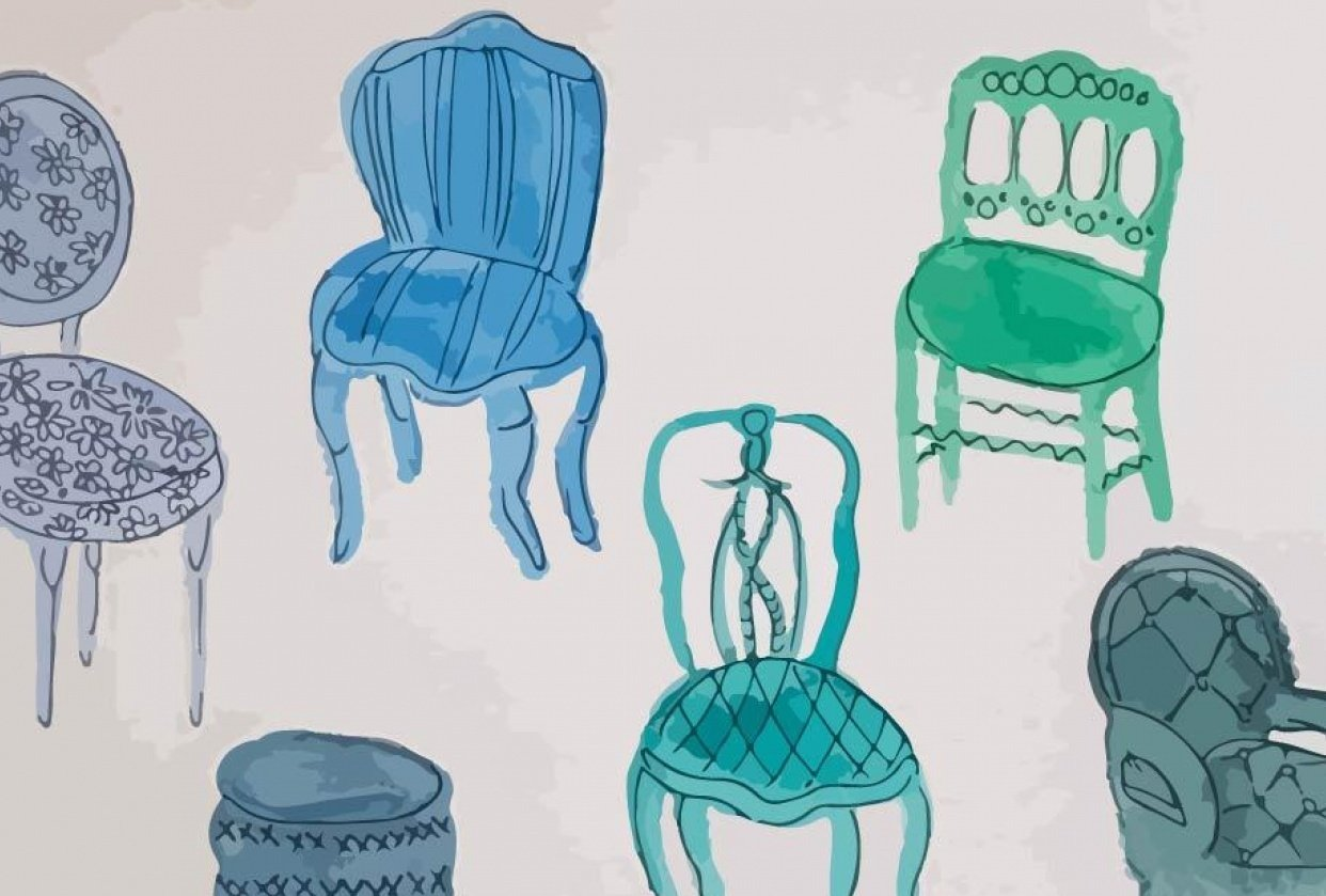 Vintage chairs - student project