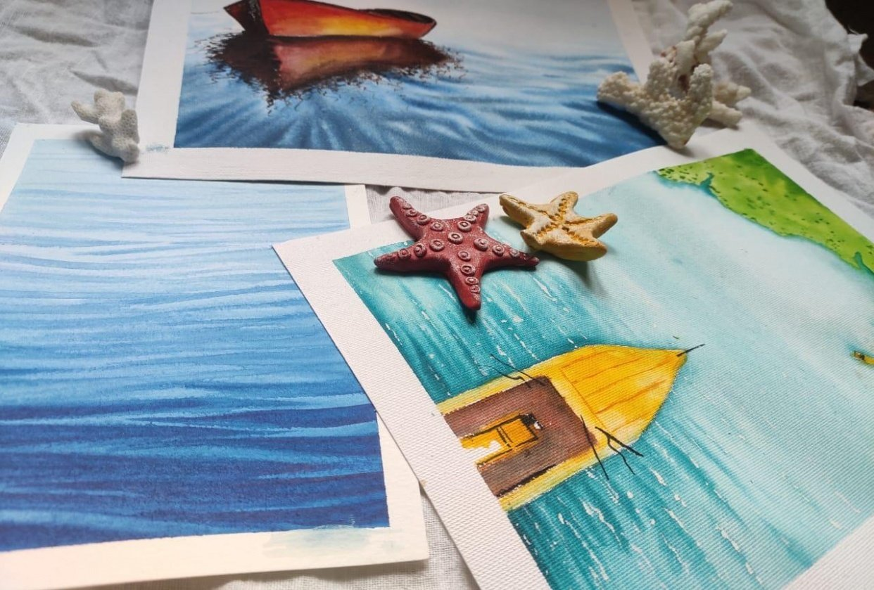 seascapes - student project
