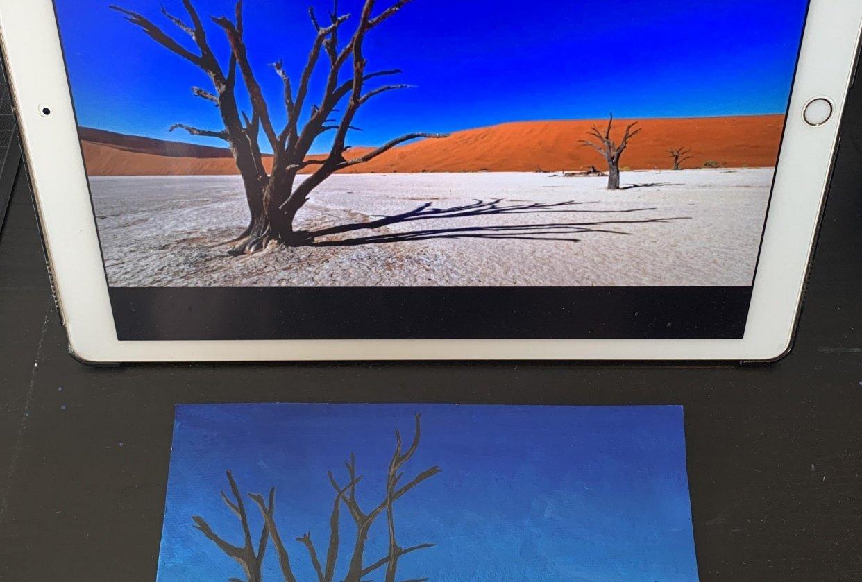 Desert - student project