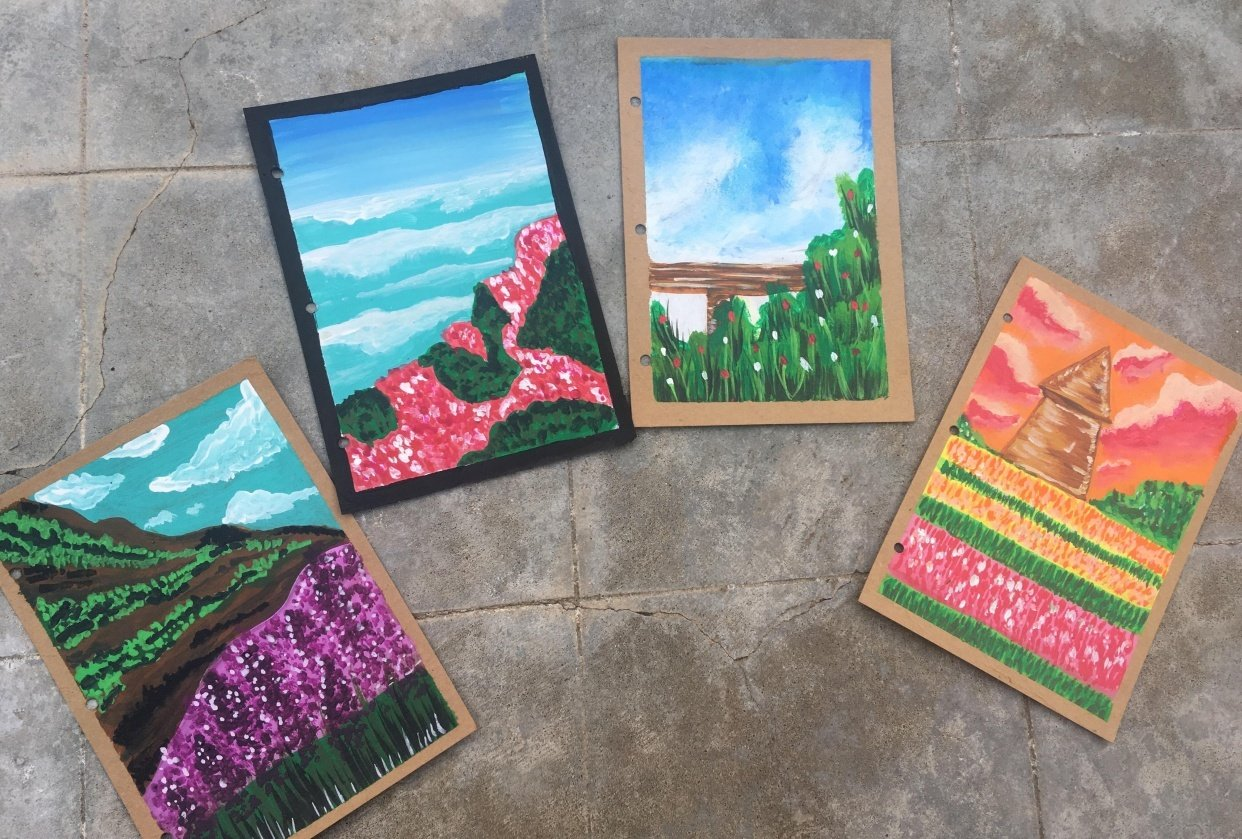 GAUCHE MEADOWS AND MOUNTAINS - student project