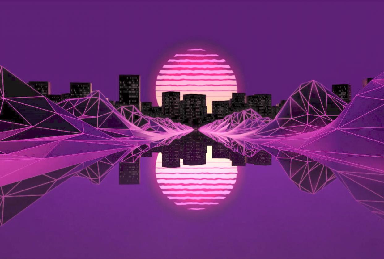 Retro City (loop) - student project
