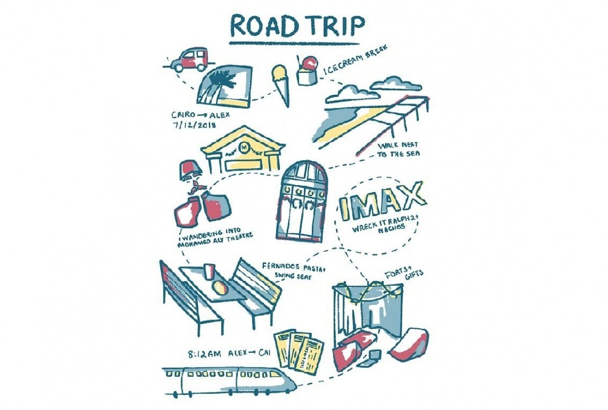 road trip - student project