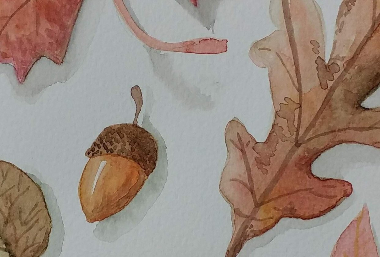 Autumn leaves project - student project