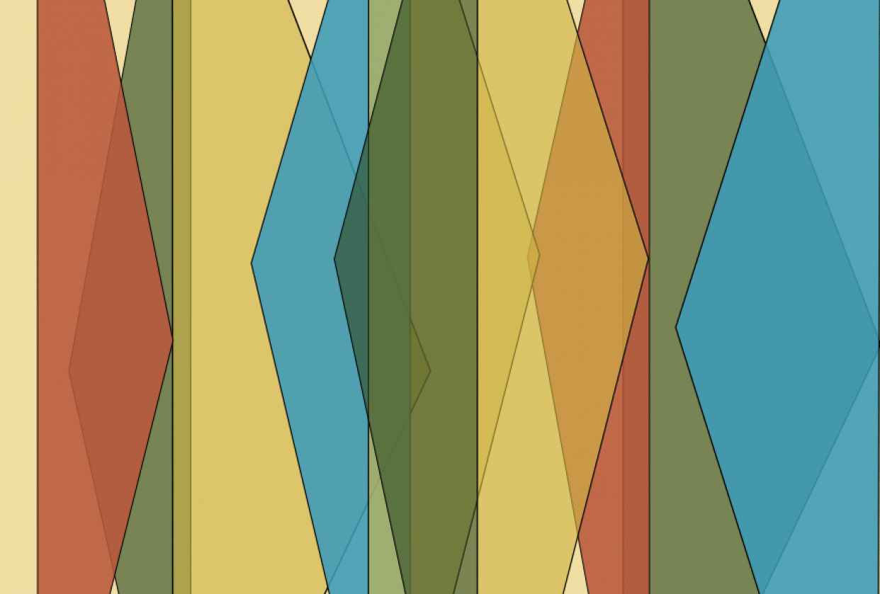 Triangular hues - student project