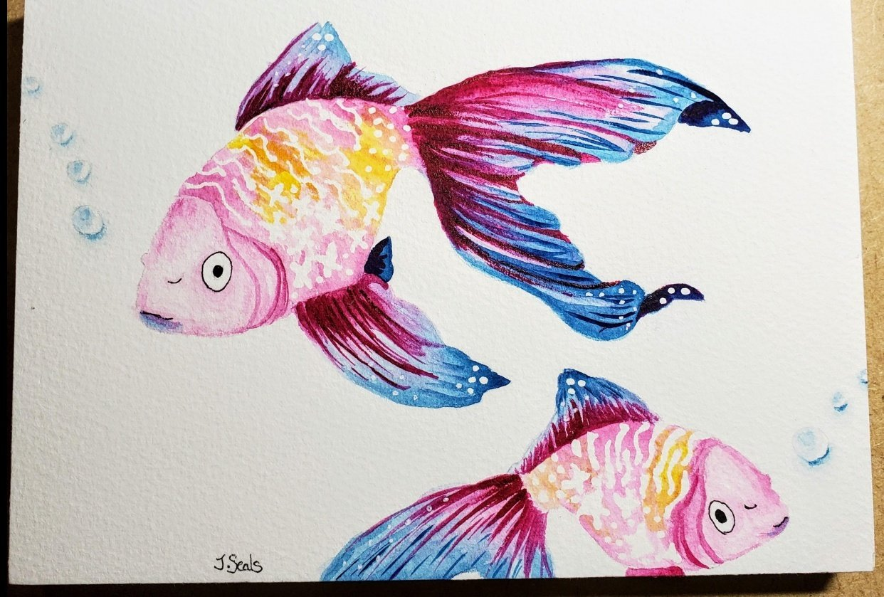 Fishes!! - student project