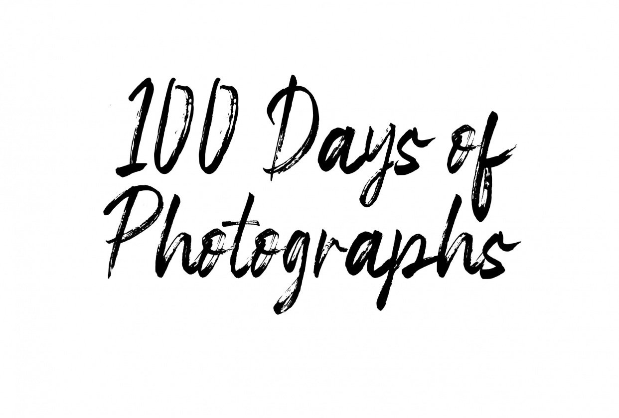 100 Days of Photos from Everyday Life - student project