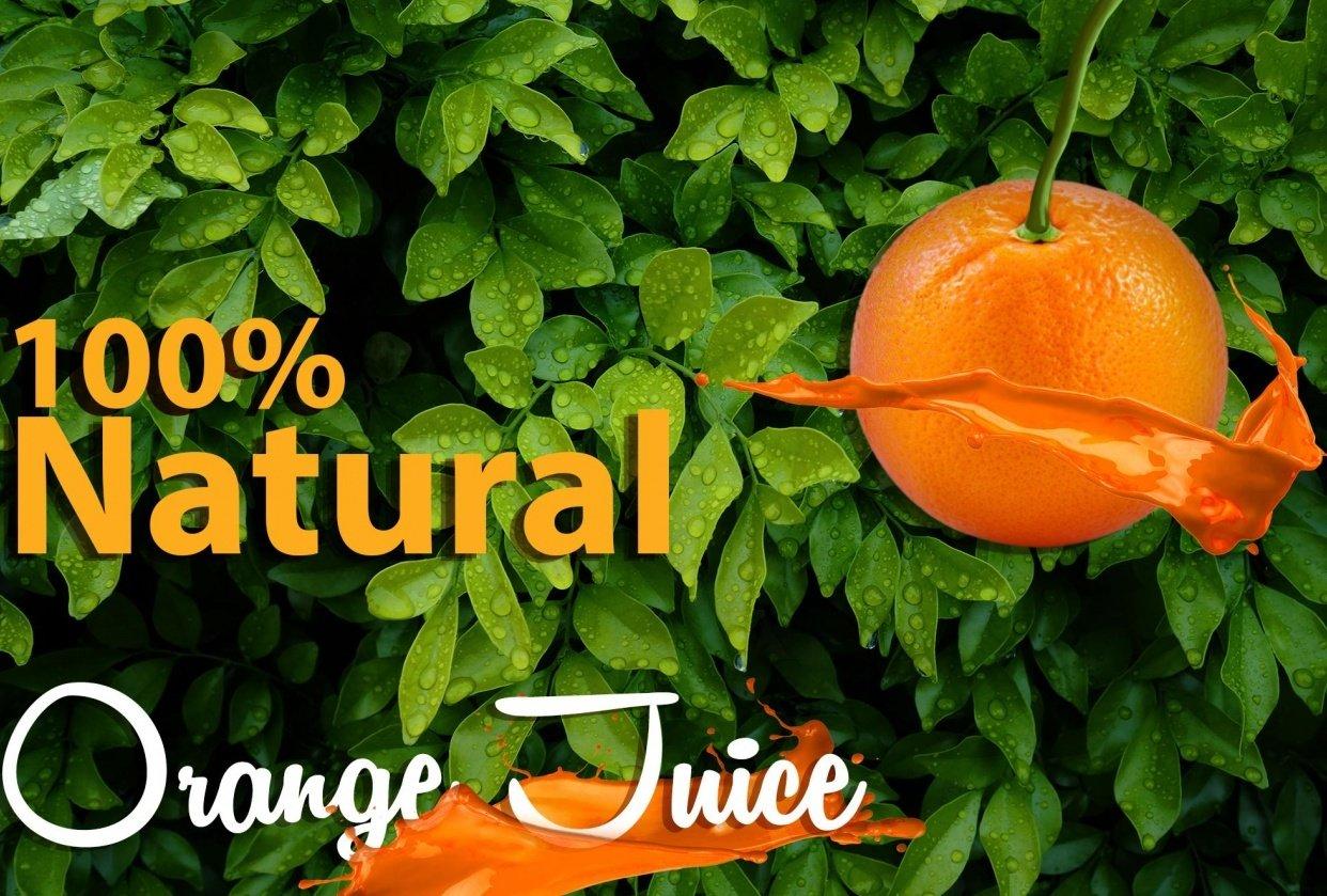 Orange Juice Poster - CP1 - student project