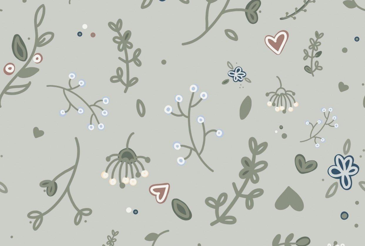 Farmhouse Floral Doodles - student project