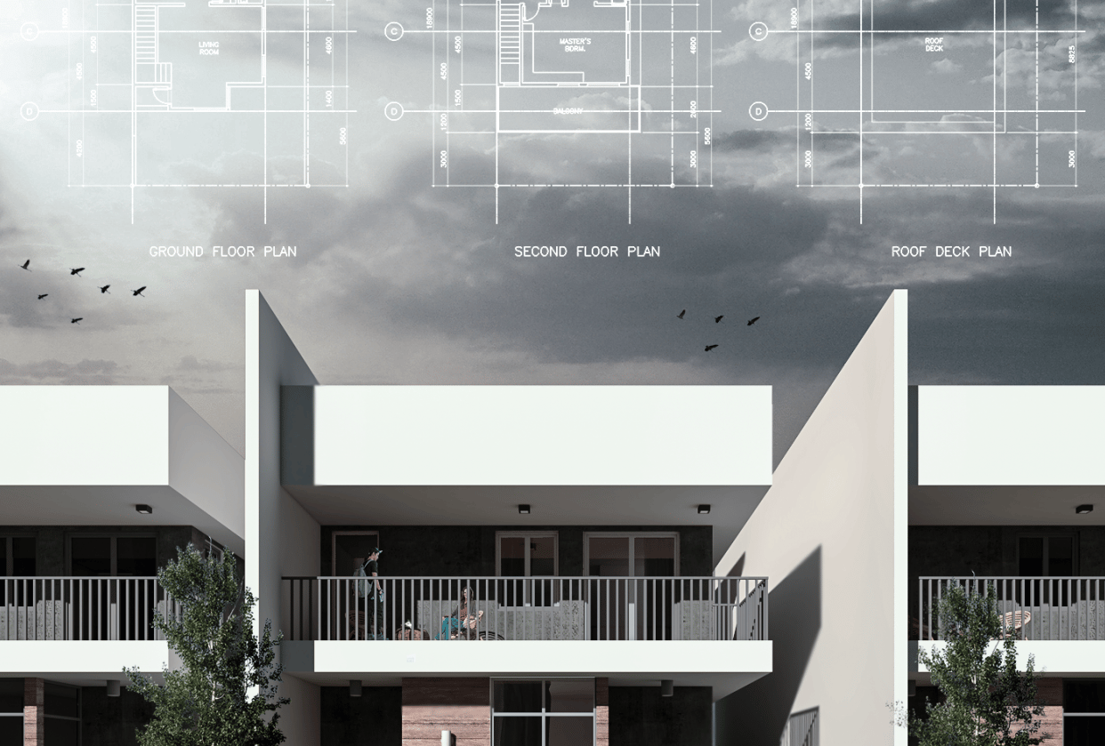 Two Storey Residential - student project