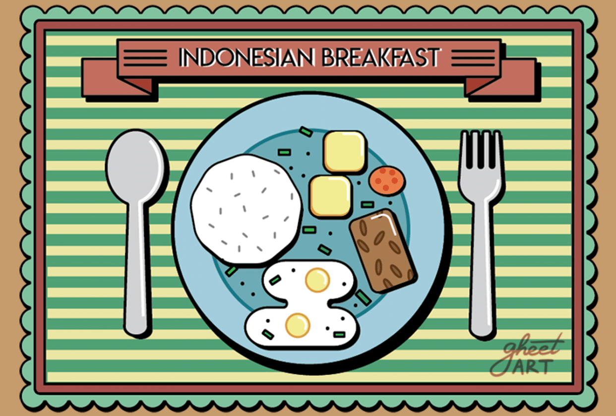 Indonesian Breakfast - student project