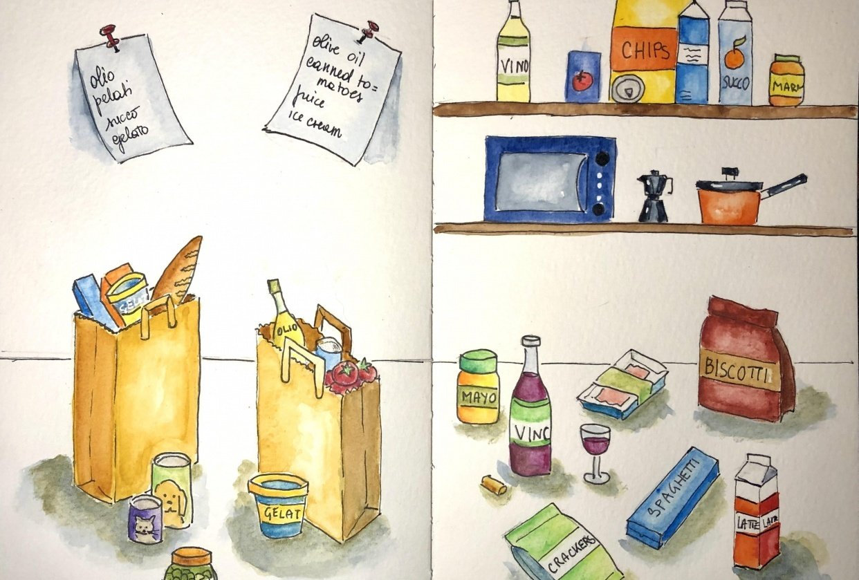 Grocery - student project