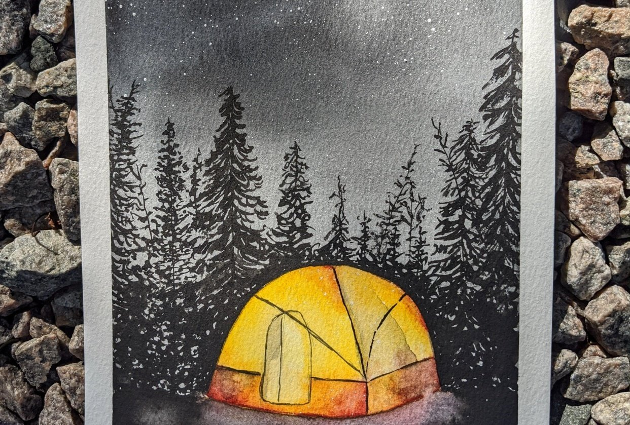 Pine Woods Camping - student project