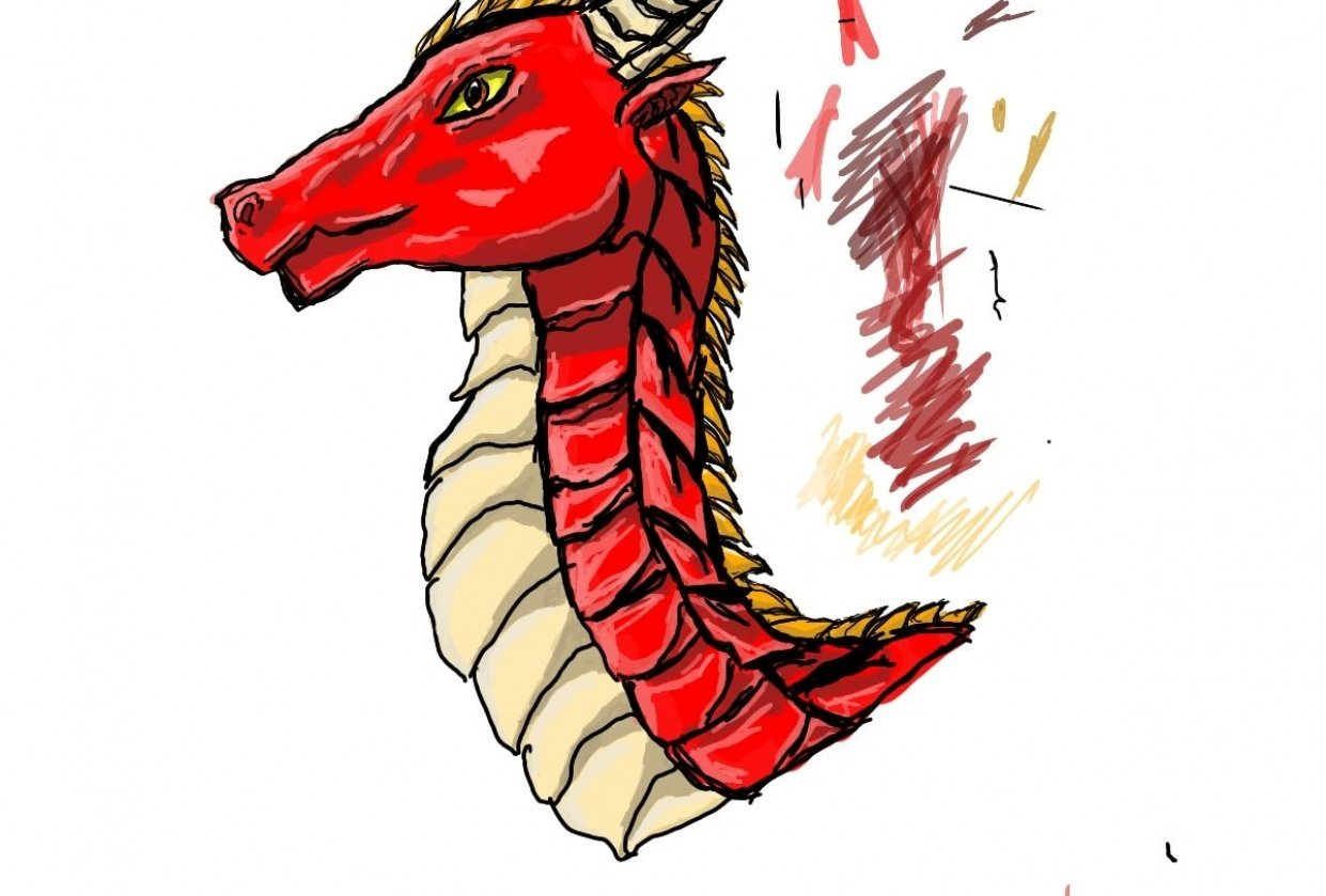 red dragon - student project