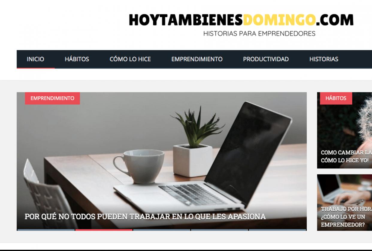 Monetización de blog para emprendedores - student project