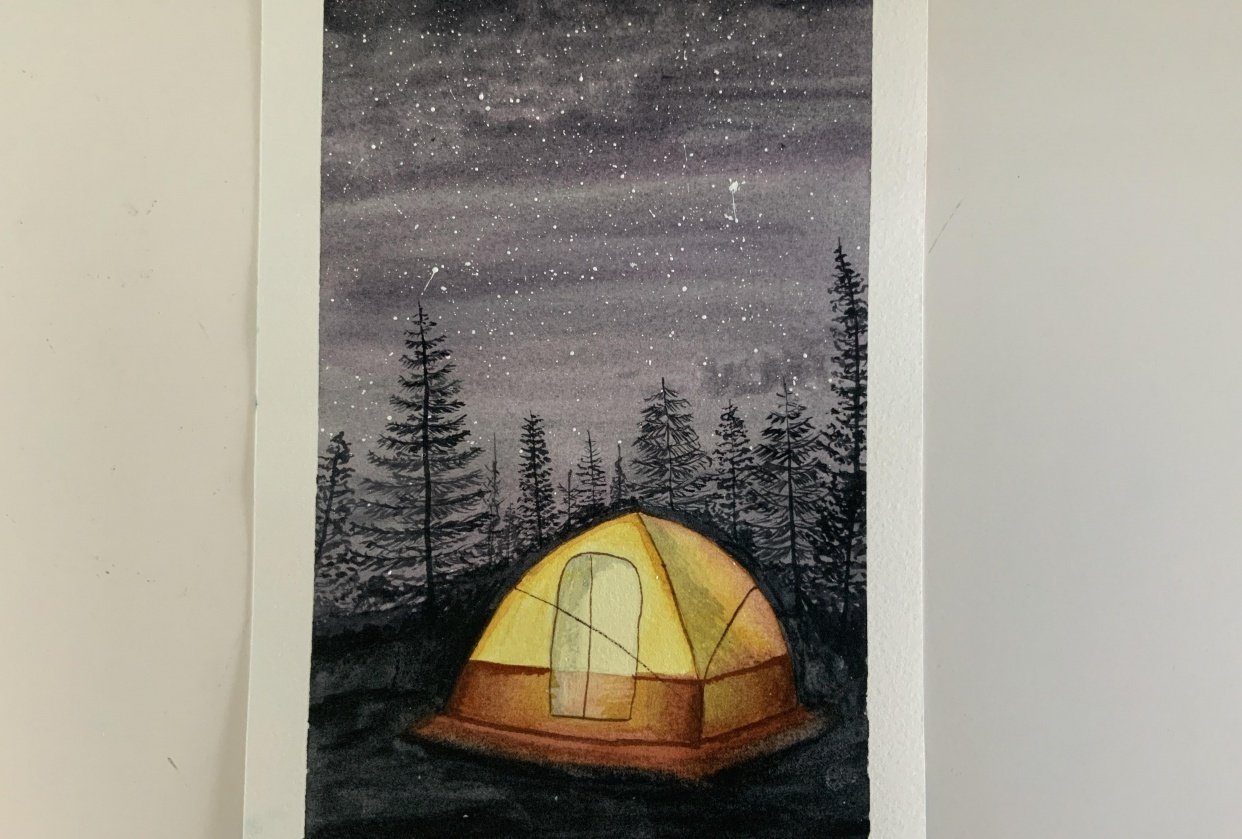 Camping - student project