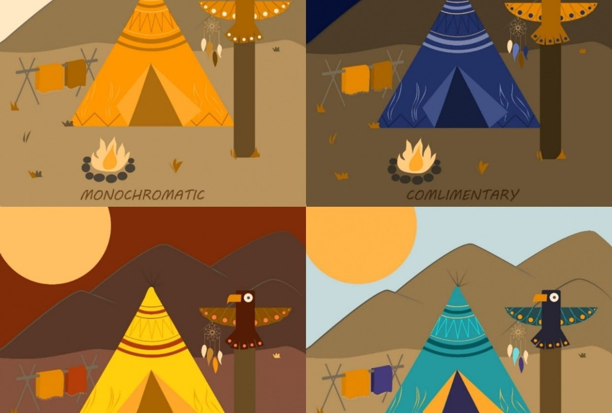 Color Theory for Illustrators - student project
