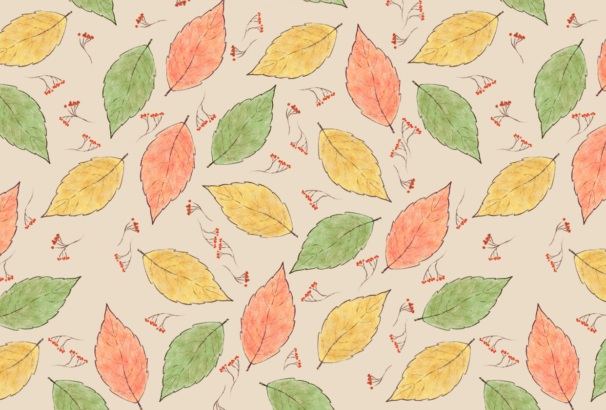 Autumn in leaves - student project