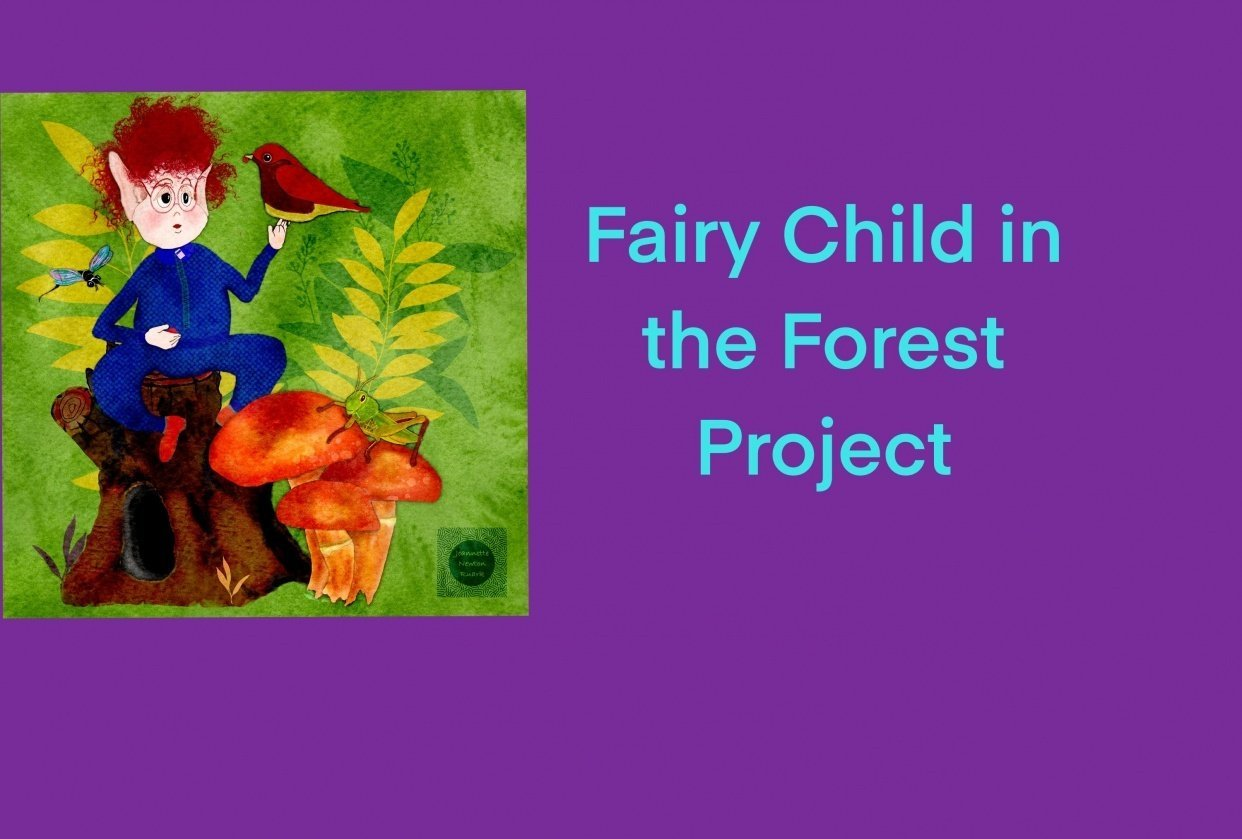 Fairy Child in the Forrest - student project