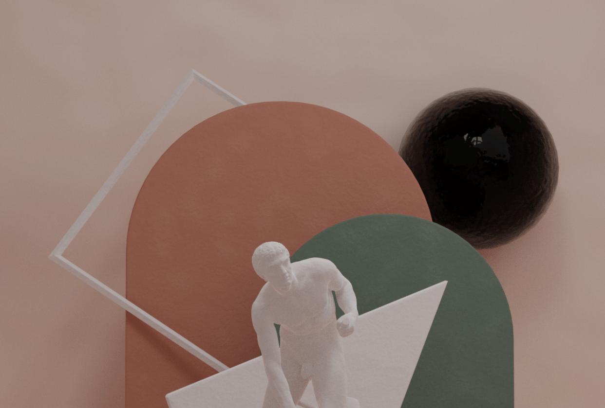 Minimal Geometric Scene - student project