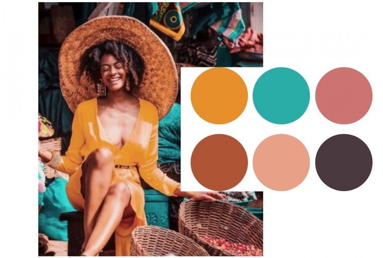 Color Palette #1 - student project