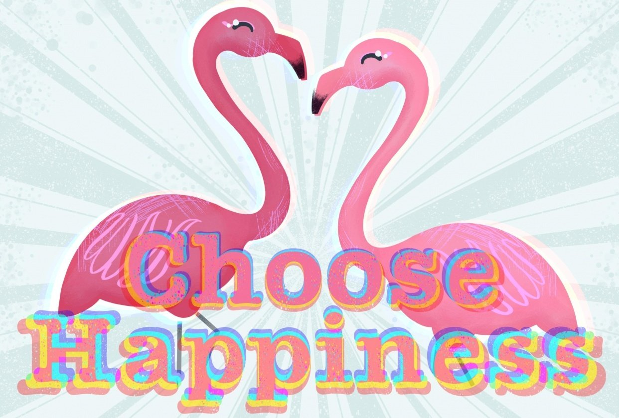 Choose Happiness - student project