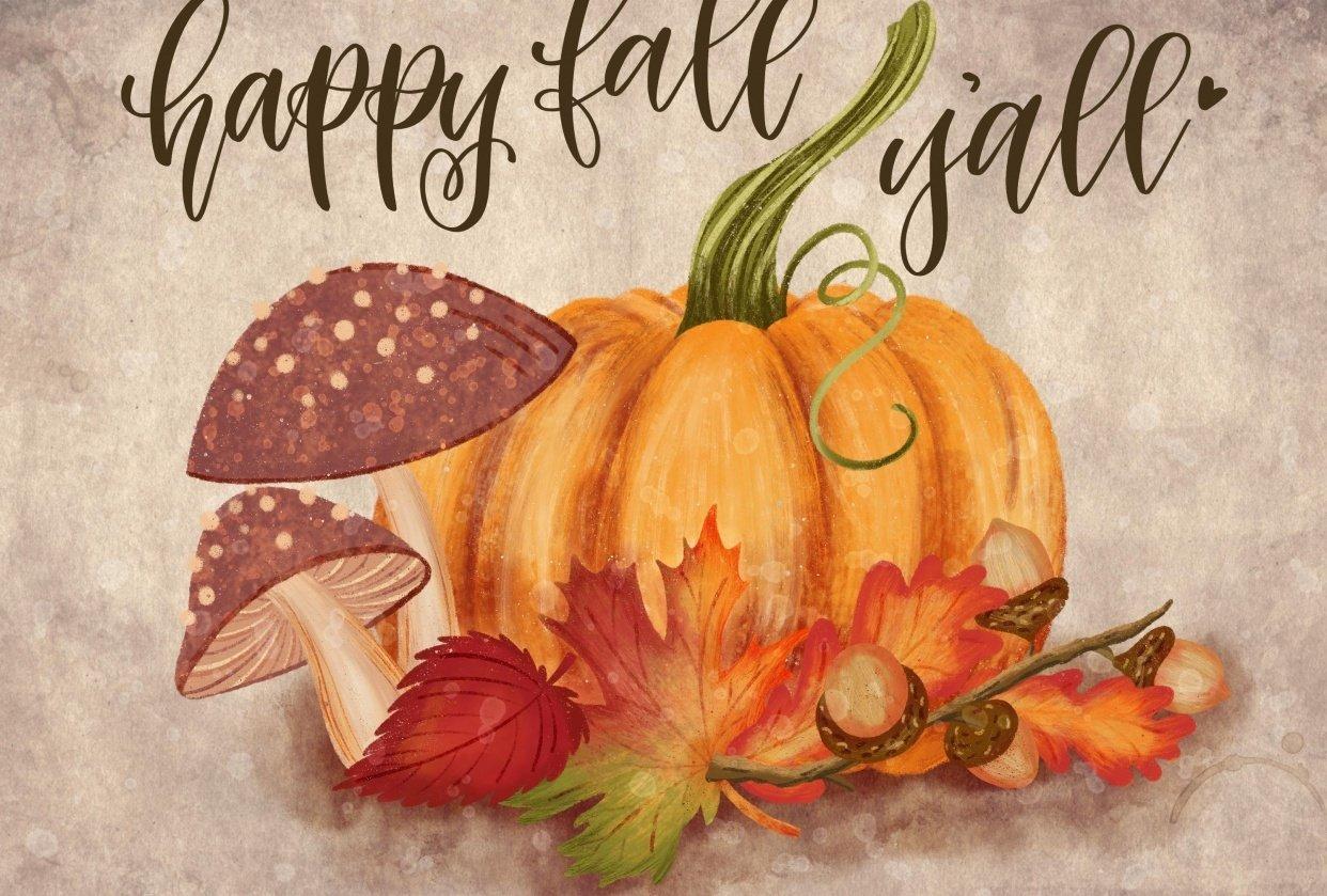 Fall Pumpkin - student project