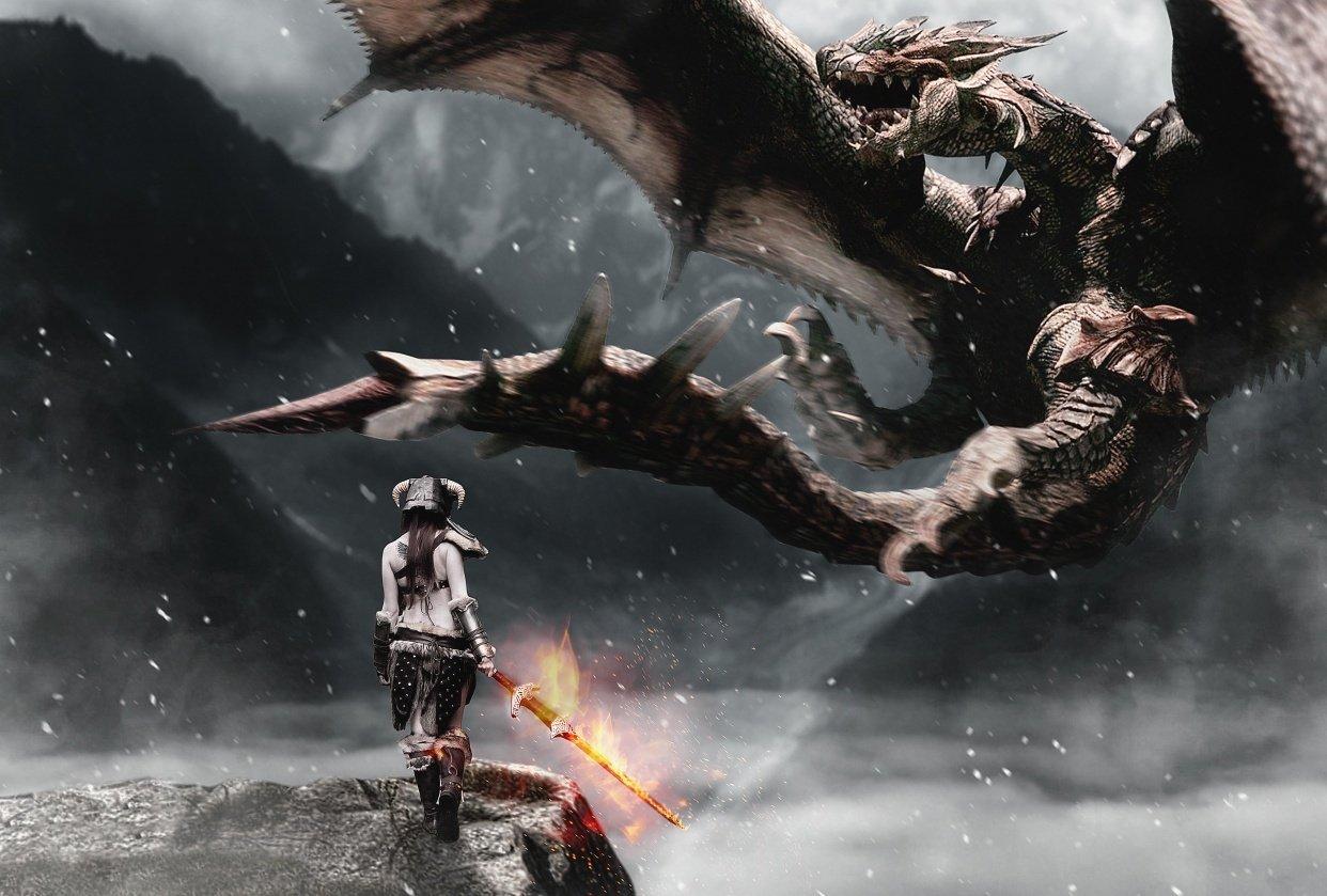 My dragon hunter version - student project