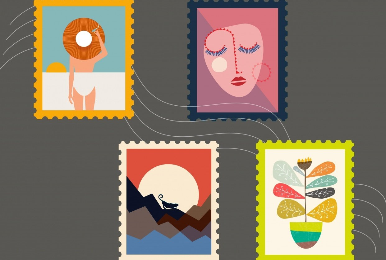 Stamps :) - student project