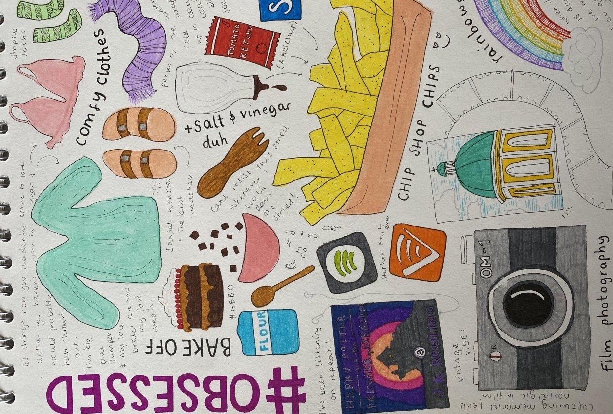 Illustrative Journalling - student project