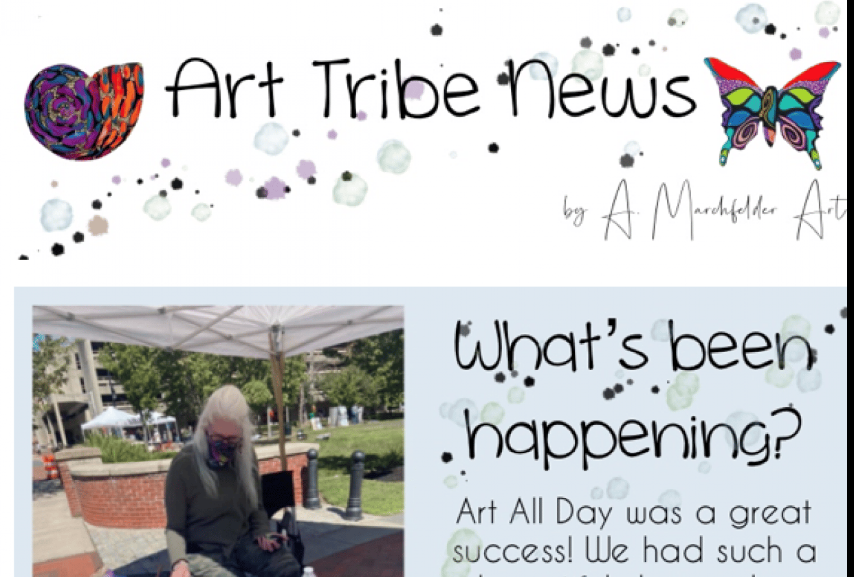 Art Tribe News - student project