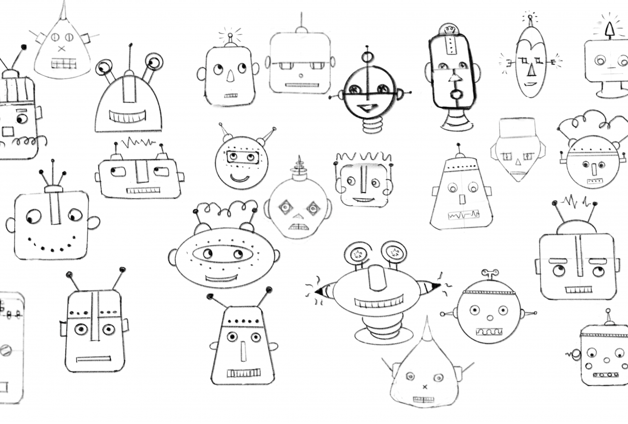 Robots - my finished items - student project