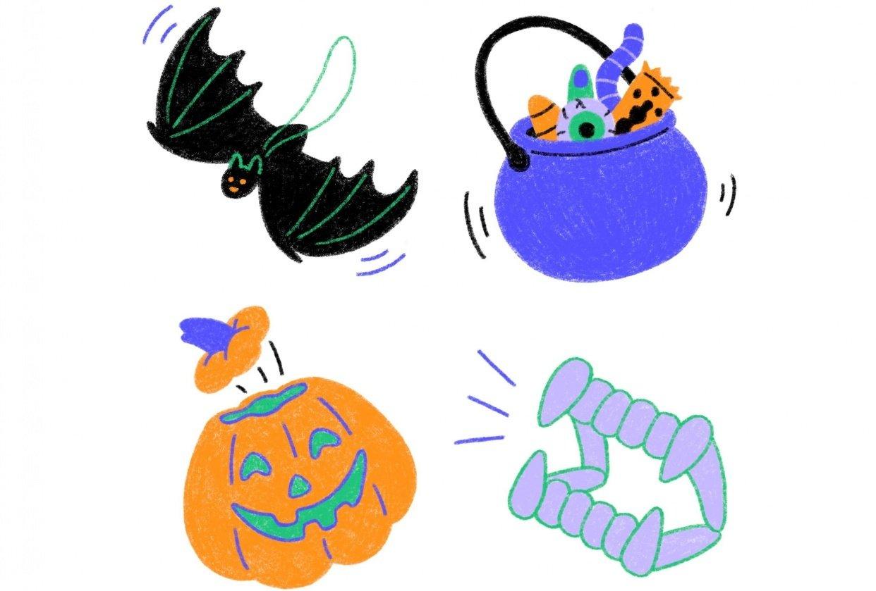 Halloween Set 1 - student project